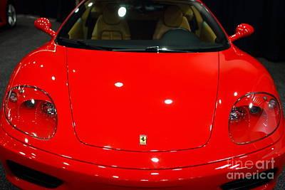 Car Photograph - 2000 Ferrari 360 Modena F1 . 7d9379 by Wingsdomain Art and Photography
