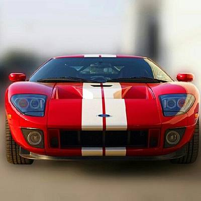 Car Photograph - 2006 Ford Gt40 by James Granberry