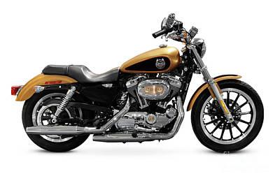 Harley Davidson Photograph - 2008 Harley-davidson 105th Anniversary Sportster Custom by Oleksiy Maksymenko