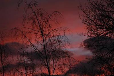 Photograph - 2011 Sunset 1 by Paul SEQUENCE Ferguson             sequence dot net