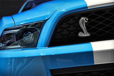 Ford Mustang Racing Photograph - 2012 Ford Mustang Gt 500 by Gordon Dean II