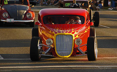 Photograph - 2012 Grants Pass Cruise - Hot Rod Rules by Mick Anderson