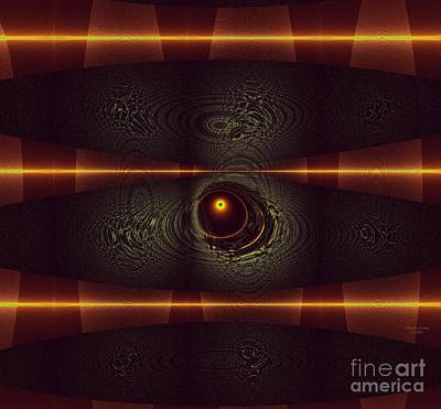 Digital Art - 2012 Solar Eclipse by Deborah Juodaitis