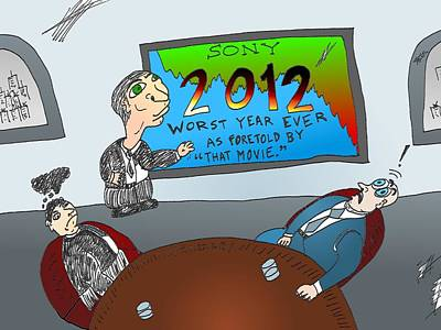 Financial Mixed Media - 2012 The Worst Year At Sony by OptionsClick BlogArt