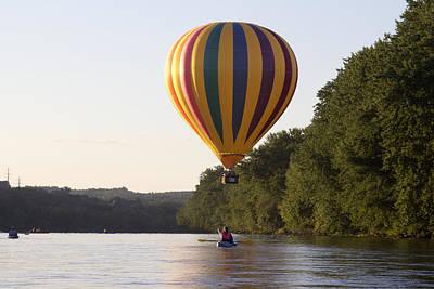 20th Great Falls Balloon Festival Art Print by Jim Walker