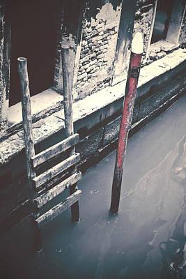 Step Stool Photograph - Venezia by Joana Kruse