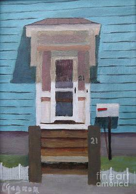 Painting - 21 Wonson St by Claire Gagnon