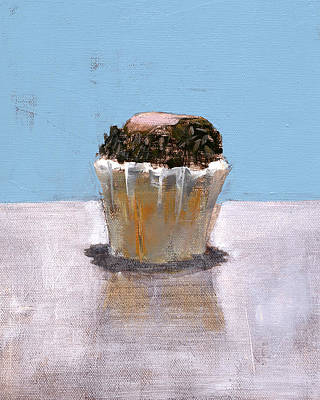 Cupcake Painting - Rcnpaintings.com by Chris N Rohrbach