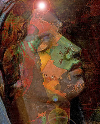 21st Century Madona Art Print by William Sosa