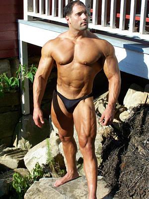 Nature Art Photograph - Male Muscle Art by Jake Hartz