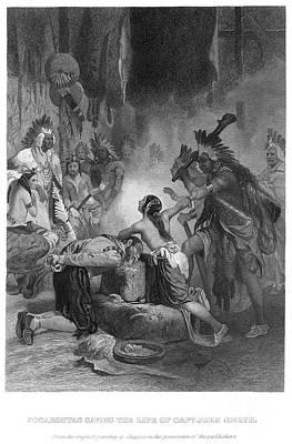 Alonzo Photograph - Pocahontas (1595?-1617) by Granger