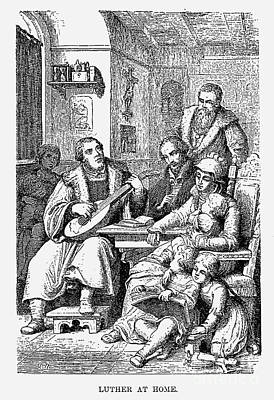 Lutenist Photograph - Martin Luther (1483-1546) by Granger