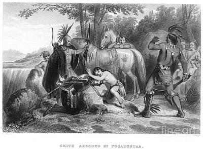 Pocahontas (1595?-1617) Art Print by Granger