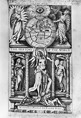 Sir Walter Raleigh Art Print