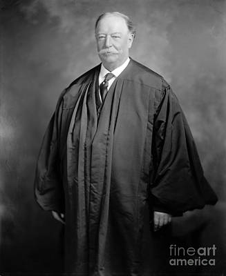 Chief Justice Photograph - William Howard Taft by Granger