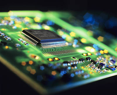 Integrated Photograph - Circuit Board by Tek Image