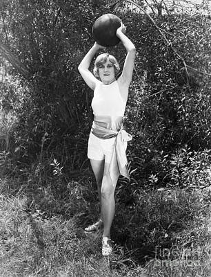 Photograph - Silent Film Still: Sports by Granger