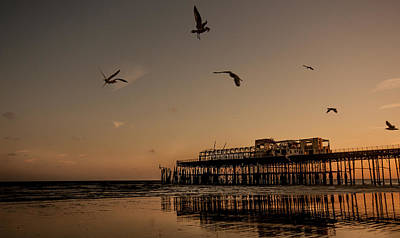 Burnt Pier Photograph - Hastings Pier by Dawn OConnor