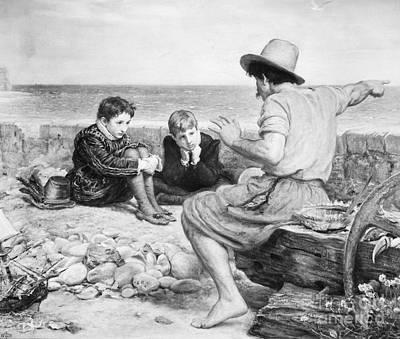 Sir Walter Raleigh Print by Granger