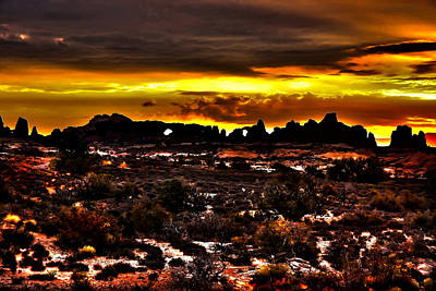 Arches National Park Art Print by Mark Smith