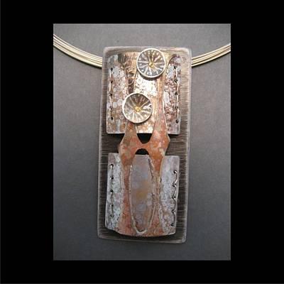 Jewelry - 259 Torch Fire Flowers by Brenda Berdnik
