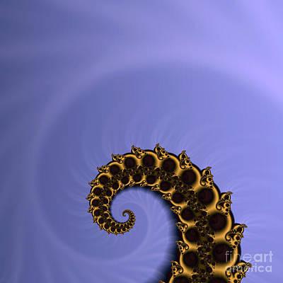 Sweating Digital Art - Fractal by Odon Czintos