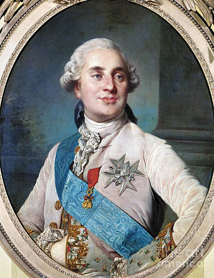 Photograph - Louis Xvi (1754-1793) by Granger
