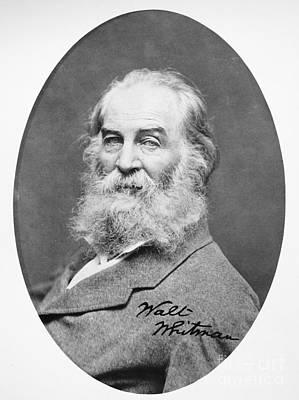 Walt Whitman (1819-1892) Art Print by Granger