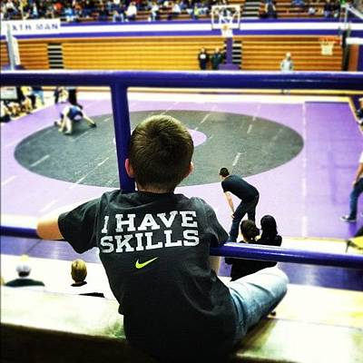 Wrestling Wall Art - Photograph - Instagram Photo by S Smithee