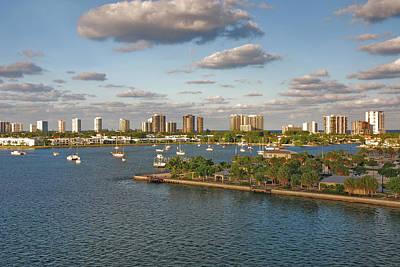 Photograph - 27- Singer Island Skyline by Joseph Keane
