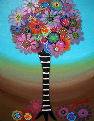 Get Carter Painting - Tree Of Life by Pristine Cartera Turkus