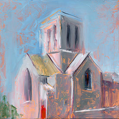 Church Steeple Painting - Rcnpaintings.com by Chris N Rohrbach
