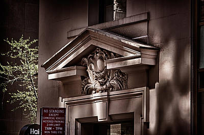Photograph - 28 And Madison Building Detail 1 by Val Black Russian Tourchin
