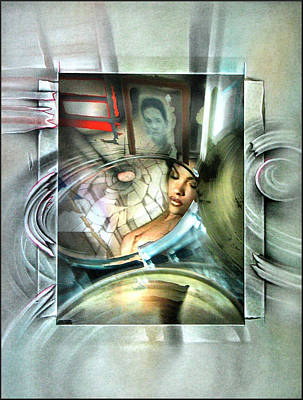 Mixed Media - #28 Drumnudecomp 2003 by Glenn Bautista
