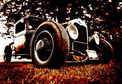 29 Ford Pickup Art Print by Phil 'motography' Clark