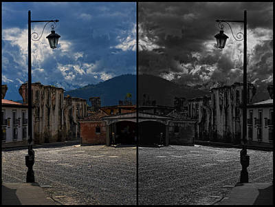Photograph - 2faced Street by Francesco Nadalini