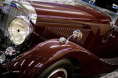 Photograph - 1936 Bentley by David Patterson