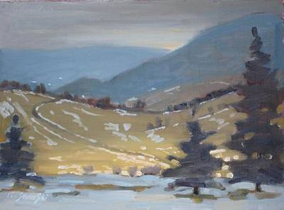Painting - Airyhill Study by Len Stomski