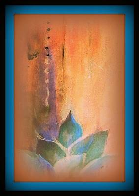 Painting - Ancient Lotus by Wendy Wiese