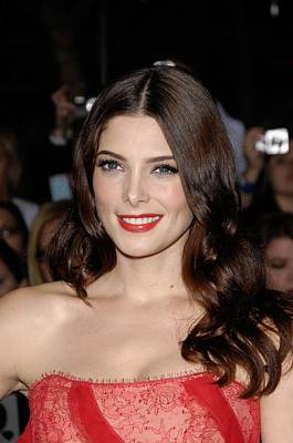 Ashley Greene At Arrivals For The Art Print by Everett