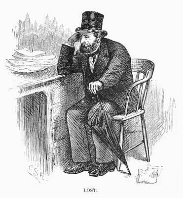 Bank Panic, 1873 Art Print