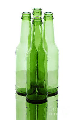 Photograph - Beer Bottles by Blink Images