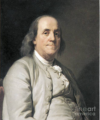 Benjamin Franklin, American Polymath Art Print by Photo Researchers