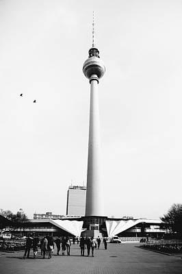 Berlin Tv Tower Art Print by Falko Follert