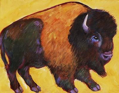Big Buffalo  Art Print by Carol Suzanne Niebuhr