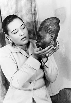 Photograph - Billie Holiday (1915-1959) by Granger
