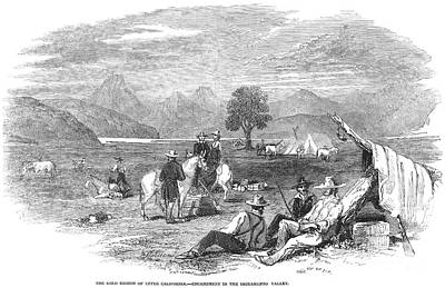 California Gold Rush, 1849 Art Print by Granger