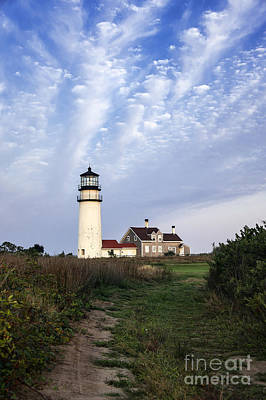 Cape Cod Light Art Print by John Greim