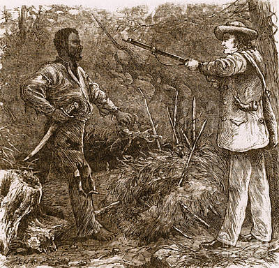 Capture Of Nat Turner, American Rebel Art Print by Photo Researchers