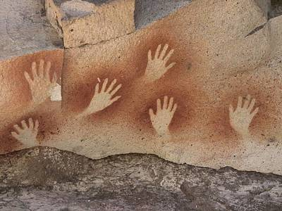 Cave Of The Hands, Argentina Art Print